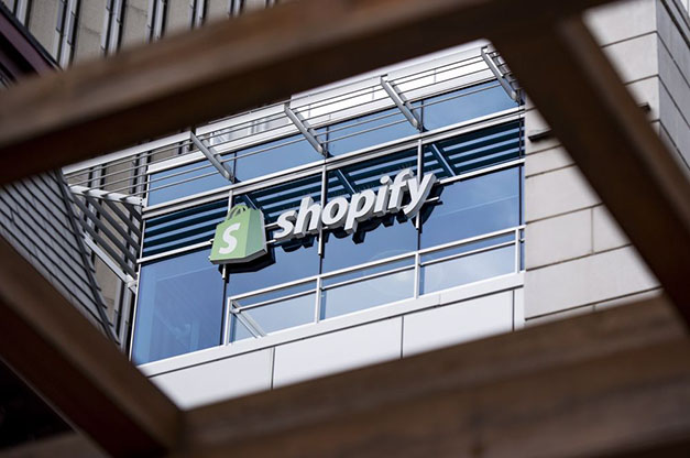 Shopify building sign